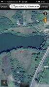 For sale plot of half a hectare on the banks of a pond in S. Cane