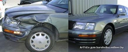 Inexpensive repairs after an accident. Match money