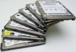 Sell hard drives for laptops Acer (used)