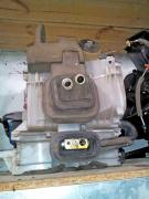 Species the body of the heater for Opel Frontera