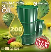 SUPPLIER OF ORGANIC PRICKLY PEAR OIL
