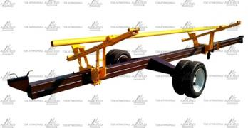 Trolley for transportation of the header VTZH one and two-axle, buy, price